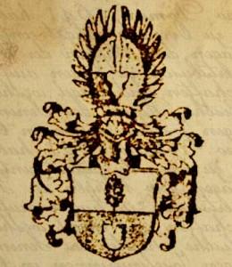 Das Logo ist das Wappen der Familie seit 1641.